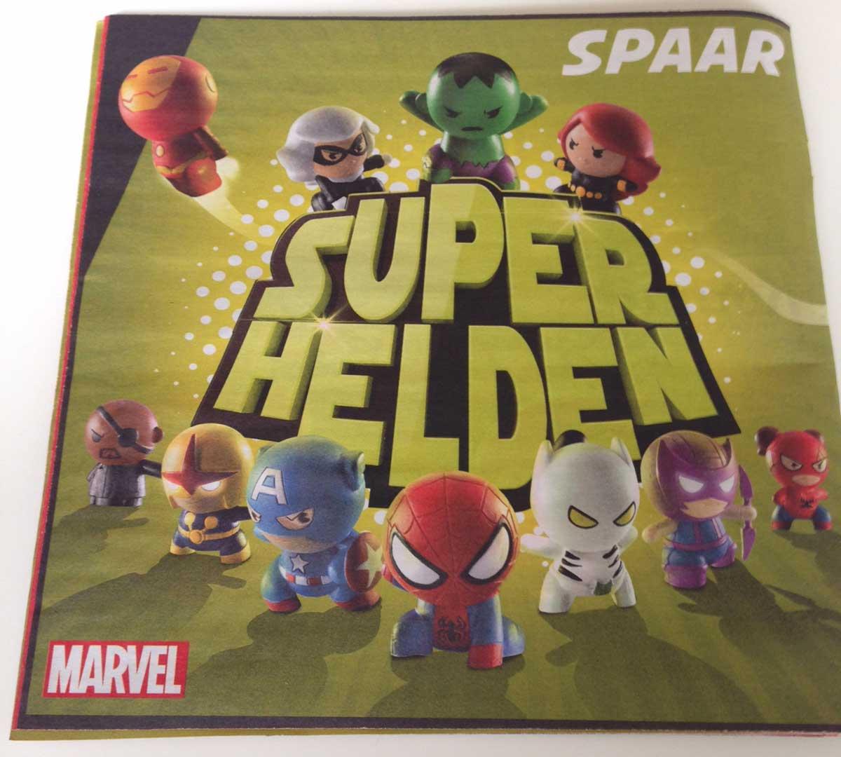 PLUS: Marvel Superhelden Spaaractie