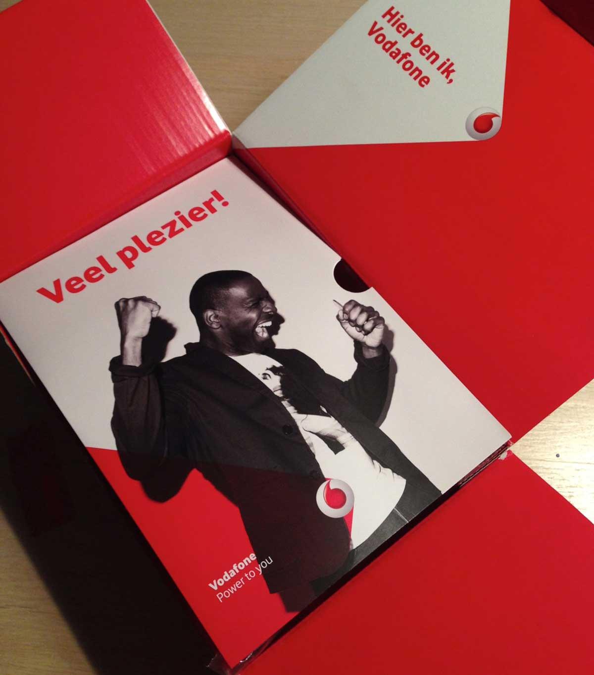 Vodafone: welkomstpakket