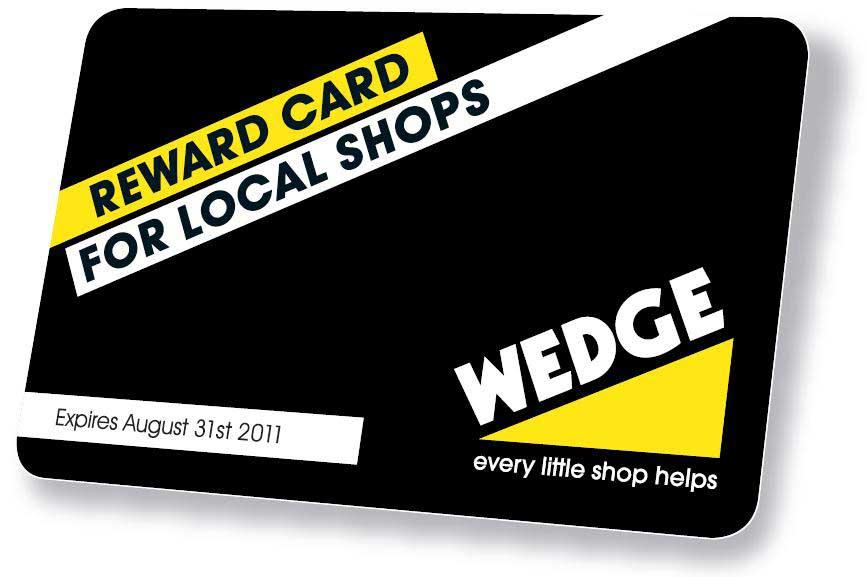 Wedge Card