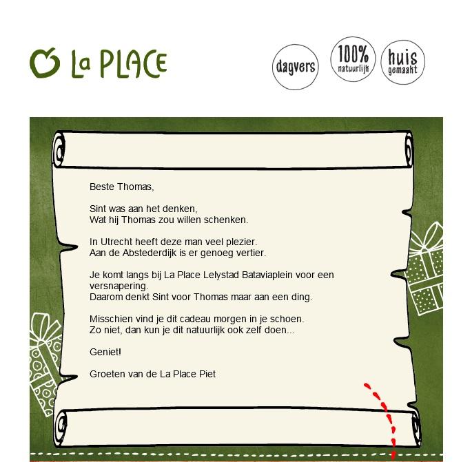 Een gedicht van La Place