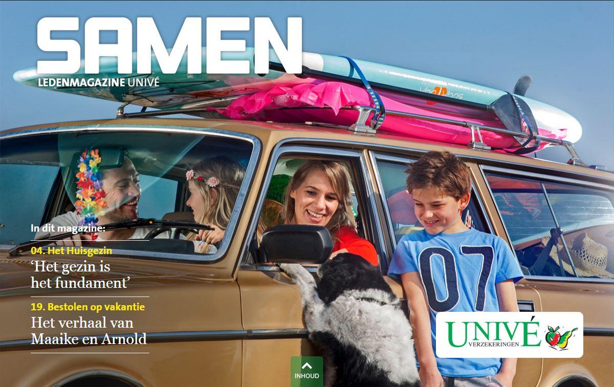 Ledenmagazine Univé
