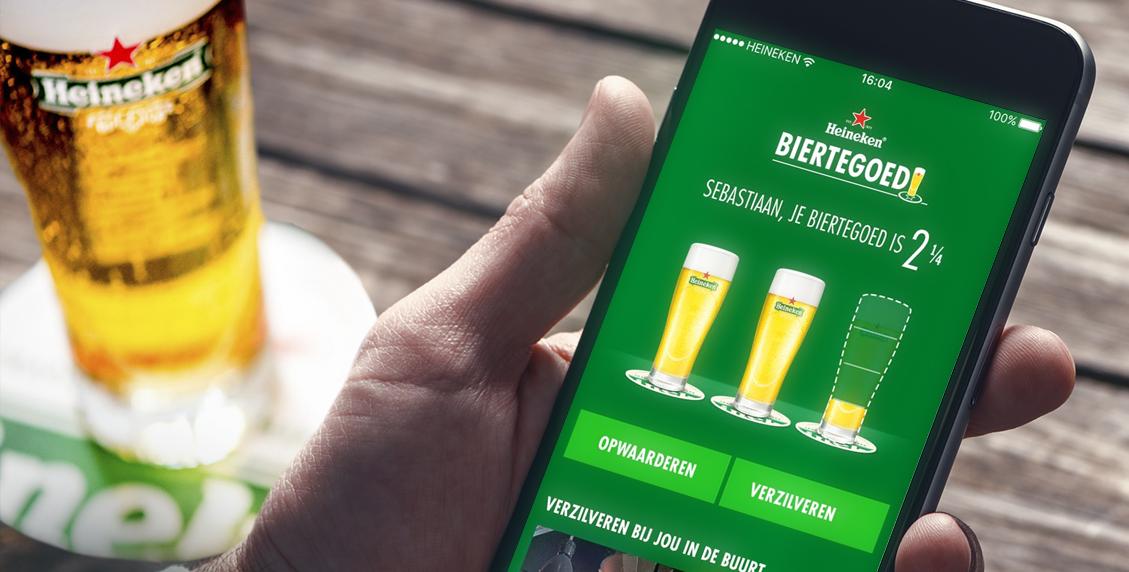 Uniek spaarprogramma: Heineken Biertegoed
