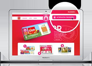 Website spaarprogramma LiGA