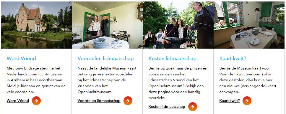 Nederlands openlucht museum afbeelding website