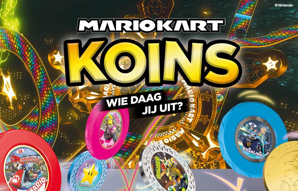 Plus: Mario Kart koins sparen